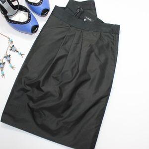 J. Crew Taffeta Marvelle Mini Skirt in Black Sz. 4